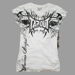 NWOT Tap Out slim fit tee shirt car sleeve